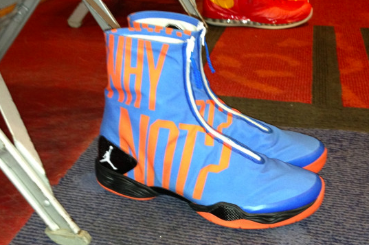 Russell Westbrook's All-Star Game Kicks Highlight Very Own 'Why Not?' Foundation