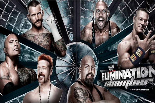 WWE Elimination Chamber 2013: Live Results, Coverage and Analysis