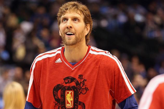 Sefko: As Nowitzki Climbs NBA Charts, His Status in the Game Grows