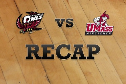 Temple vs. Massachusetts: Recap, Stats, and Box Score