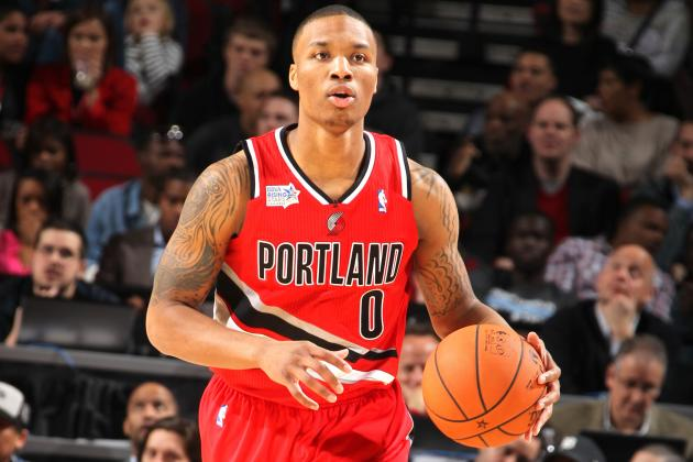 NBA Skills Challenge 2013: Damian Lillard Wins All-Star Event