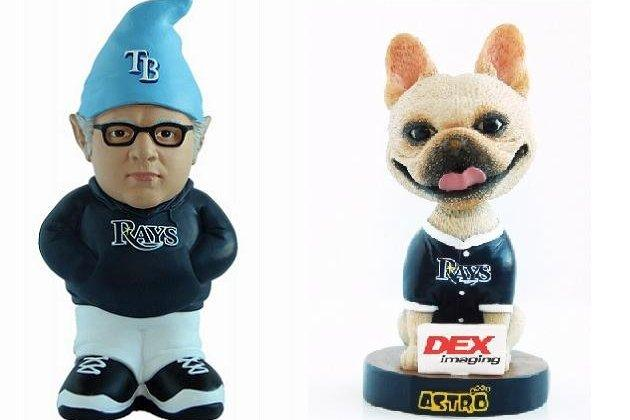 Rays to Give Away Joe Maddon Gnome and Bobblehead of David Price's Bulldog