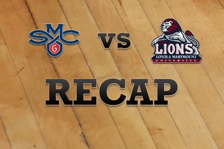 Saint Mary's vs. Loyola Marymount: Recap, Stats, and Box Score