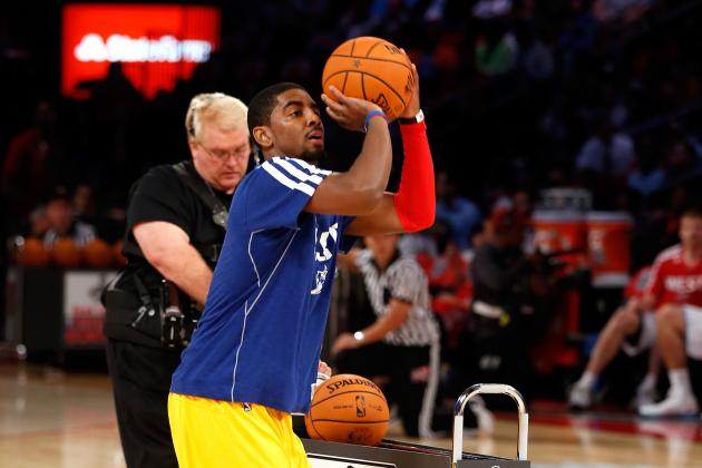 Kyrie Irving Confirms He Is NBA's Hottest Young Star with 3-Point Contest Win