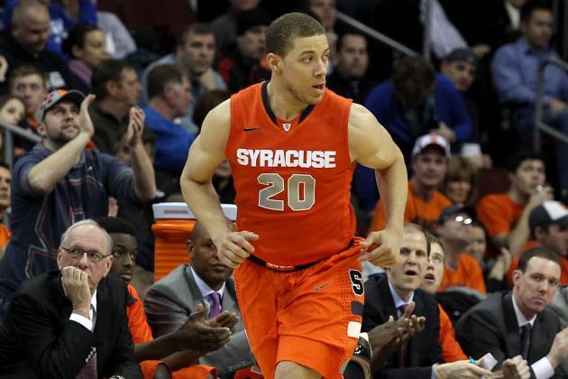 No. 6 Syracuse 76, Seton Hall 65