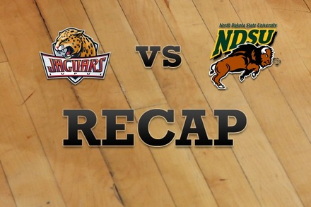IUPUI vs. North Dakota State: Recap, Stats, and Box Score