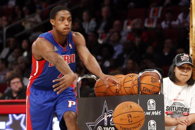 Brandon Knight Finishes Third in Skills Challenge