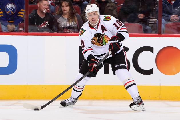 Chicago Blackhawks: Patrick Sharp Must Improve His Game