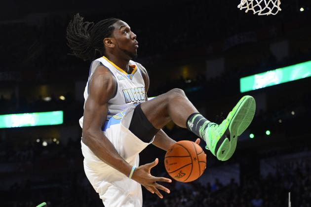 Faried Throws Down off Glass Between Legs Jam