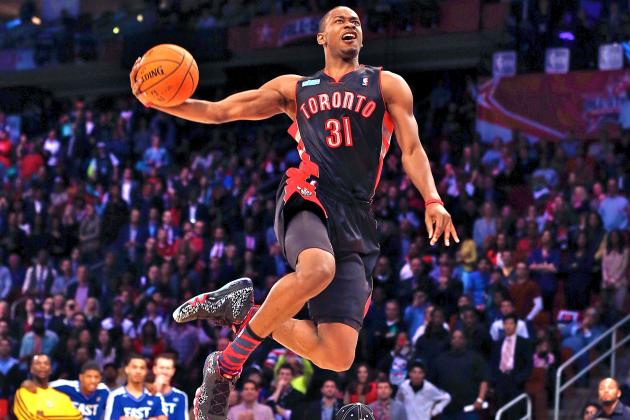 Terrence Ross Defeats Jeremy Evans to Win 2013 NBA Slam Dunk Contest