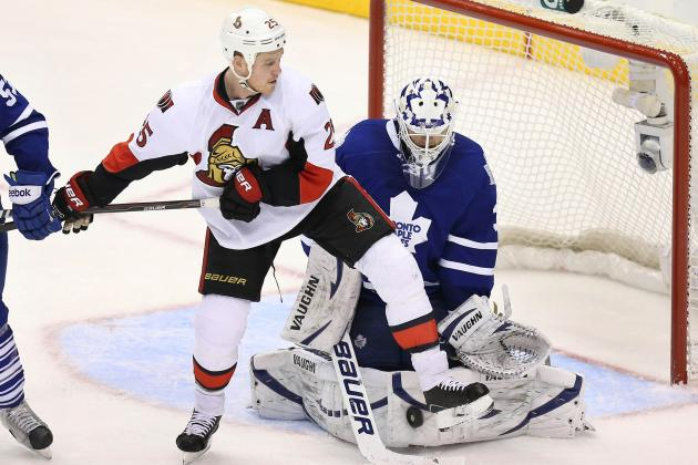 Toronto Maple Leafs Shut out Ottawa Senators at ACC