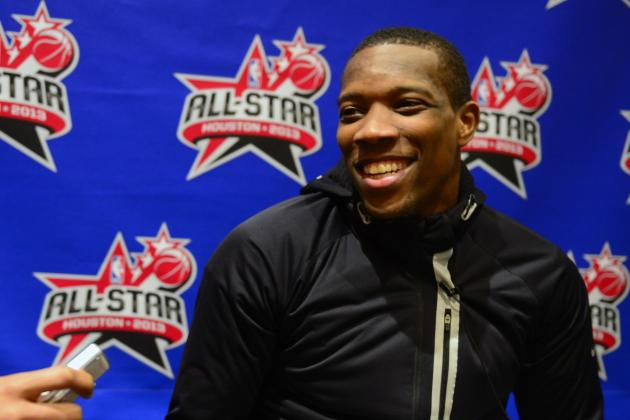 All-Star Dunk Contest PA Mistakenly Introduced Eric Bledsoe as a L.A. Laker