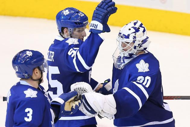 Leafs Net Sloppy Shutout Over Sens