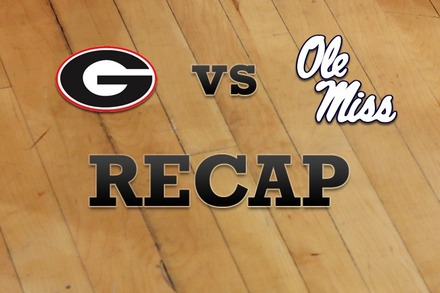 Georgia vs. Mississippi: Recap, Stats, and Box Score