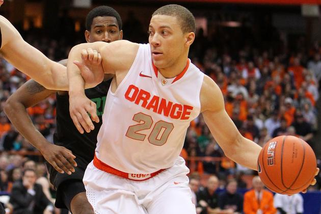 Triche Fills the Role That Syracuse Coach Jim Boeheim Reserved for Him