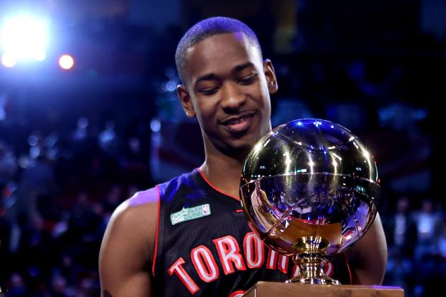 Terrence Ross' 2013 Slam Dunk Contest Championship First Step to NBA Relevancy