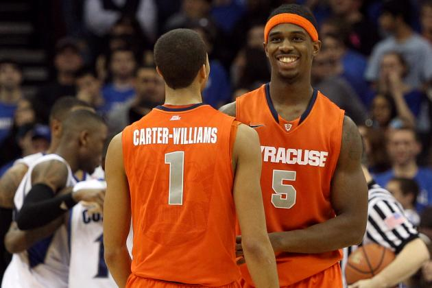 Syracuse Basketball Shoots Its Way (sort Of) Past Seton Hall, 76-65