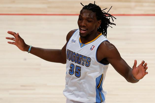 Nuggets' Kenneth Faried Unable to Win Slam-Dunk Contest