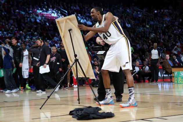 Jeremy Evans Spent 2 Weeks Painting His Slam Dunk 'Masterpiece'