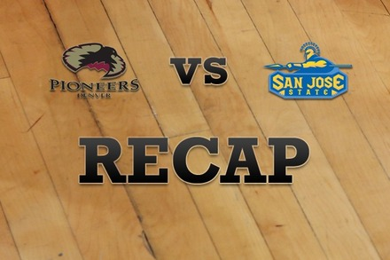 Denver vs. San Jose State: Recap, Stats, and Box Score
