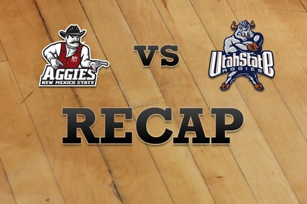New Mexico State vs. Utah State: Recap, Stats, and Box Score
