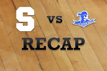 Syracuse vs. Seton Hall: Recap, Stats, and Box Score