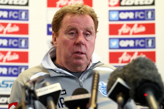 Harry Redknapp Tells QPR: 20 Points Will Keep Us in Premier League