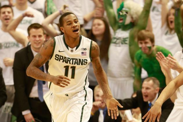 Keith Appling Continues to Come Through While Travis Trice Remains Unavailable