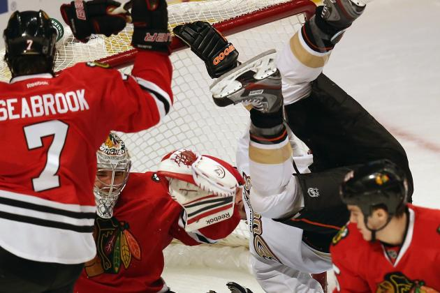 Chicago Blackhawks: Is Corey Crawford's 'Upper Body' Injury a Concussion?