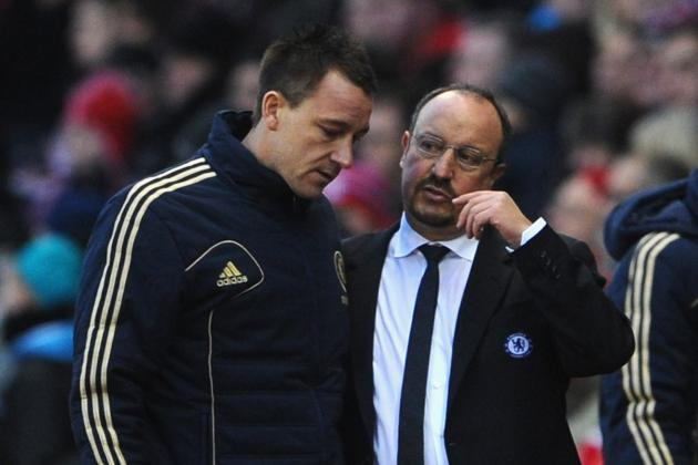 Rafa Benitez and John Terry Join Forces to Rubbish Reports of Dressing-Room Row