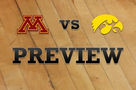 Minnesota vs. Iowa: Full Game Preview
