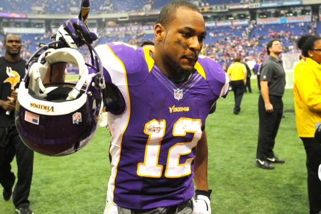 Percy Harvin and the Minnesota Vikings Are Both Crazy