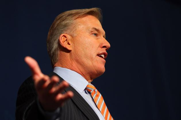 John Elway's focus on filling holes for Denver Broncos