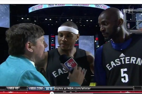 KG and Melo Make fun of Craig Sager