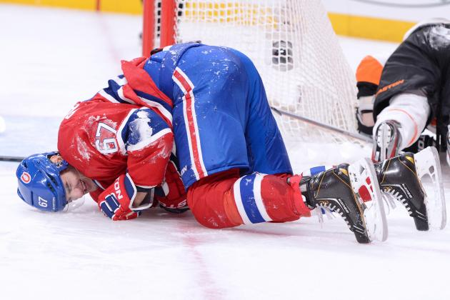 Yet Another Gruesome Injury for Max Pacioretty