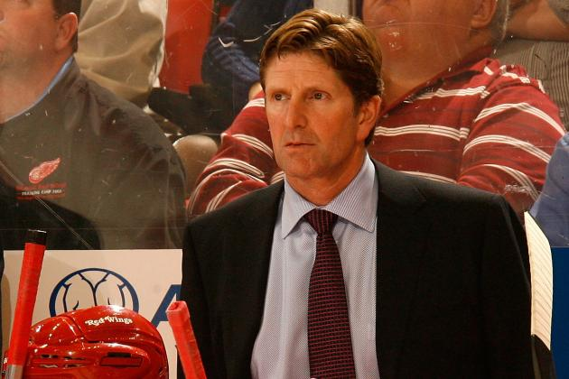 Detroit Red Wings Mike Babcock Has Been NHL's Best Coach This Season