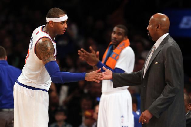 New York Knicks: Is Mike Woodson Playing Carmelo Anthony Too Many Minutes?