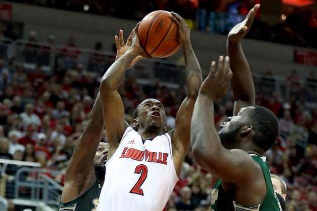 No. 12 Louisville Tops South Florida 59-41