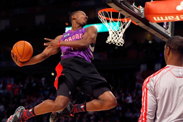Terrence Ross' Slam Dunk Win Saves Event with Old-School Flare