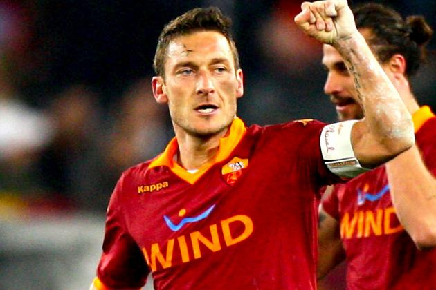 Why Francesco Totti of Roma Was Serie A's Player of the Weekend