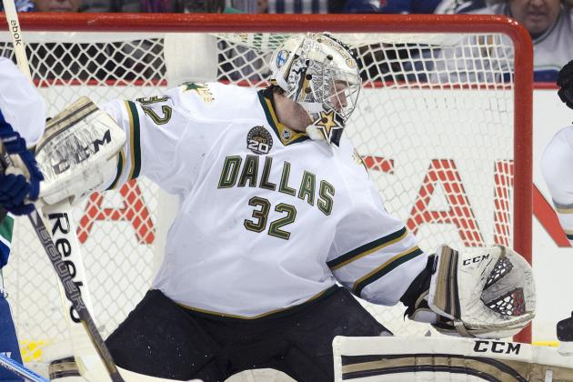 Stars Put Lehtonen on IR, Will Miss at Least 2 Games