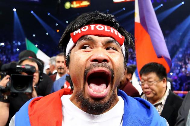 Manny Pacquiao: Fighting Outside U.S. Would Be Smart Career Move