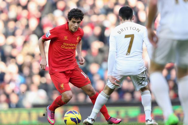 Liverpool Have 'high Hopes' for Goalscoring Debutant Coutinho, Says Rodgers
