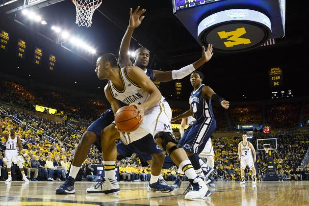 No. 4 Michigan 79, Penn St. 71