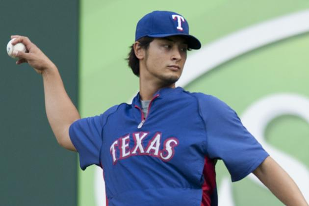 Lunch Break: Yu Darvish Loses Weight, Builds Muscle