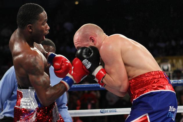 Adrien Broner vs. Floyd Mayweather Jr.: Who Would Win?