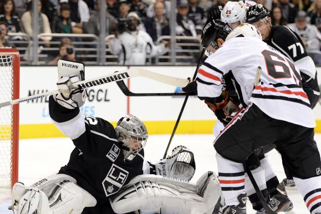 ESPN Gamecast: Los Angeles Kings vs. Chicago Blackhawks