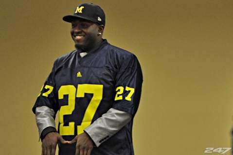 Michigan Football: Derrick Green and Top Recruits Will Ensure Dominant Offense