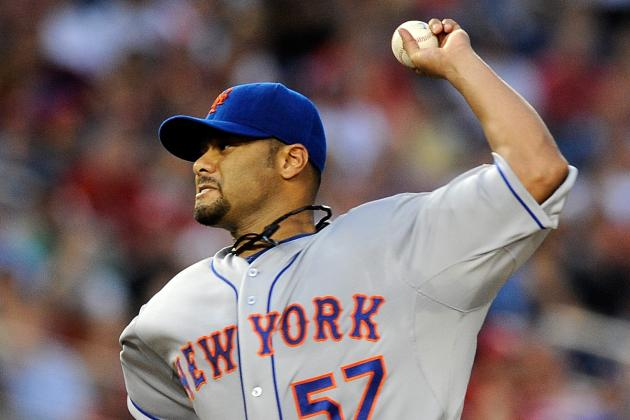 Johan Santana Throws First Bullpen Session of Spring