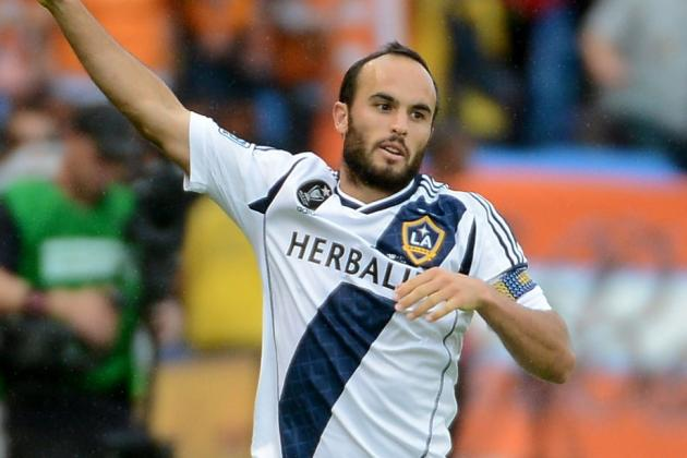 LA Galaxy Forward Landon Donovan Sets Date for Return to the Club